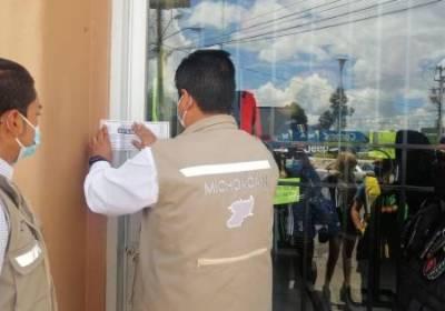 En Zamora, Guardianes de la Salud suspendieron 5 establecimientos