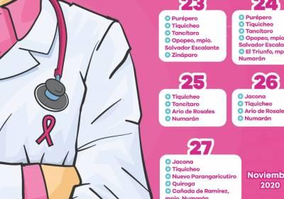 Acercan servicios gratuitos de mastografía a mujeres de comunidades alejadas