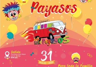 Lista 3ª Caravana de Payasos en Zamora