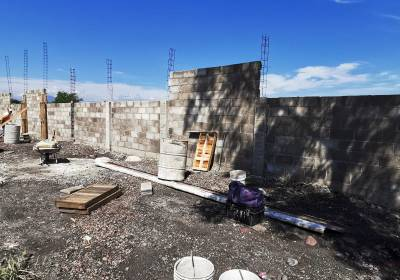 """Estrenará muro perimetral escuela """"Lázaro Cárdenas"""""""