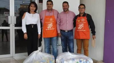 Donan 10 mil tapitas en Jacona en campaña contra el Cáncer