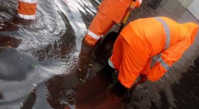 Realizan labor preventiva ante fuertes lluvias en Zamora