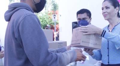 DIF Zamora arranca el programa de entrega de despesas