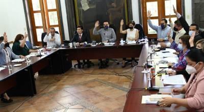Aprueba Cabildo iniciativa de ley para presupuesto de ingresos para ejercicio fiscal 2022