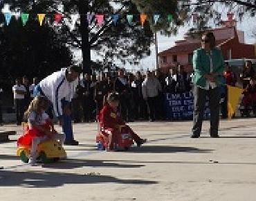DIF Jacona presente en Mini-Olimpiada del CAM Alfonso García Robles