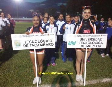 X Jornadas Deportivas Institutos Tecnológicos de Michoacán