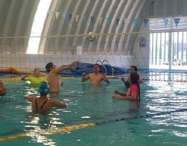 1er. Torneo de Voleibol Acuático en Zamora