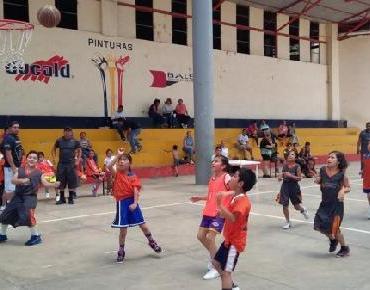 Realizan 1er Festival de Básquetbol categoría de Átomos Mixto