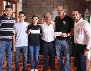 Zamoranos participaran en Olimpiada Nacional de Tae Kwon Do, reciben apoyo