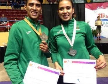 Jaconenses obtienen medallas de plata y bronce en Campeonato Panamericano