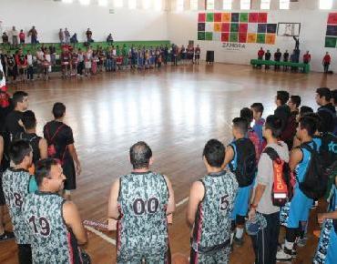 Clausuran torneo de Liga Zamorana de Basquetbol