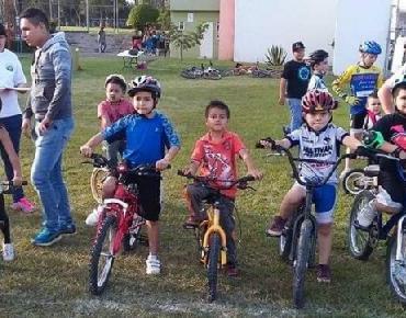 Resultados de la mini competencia ciclista organizada por Jacona en Bici