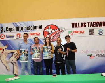 Más de 800 taekwondoínes competirán en 2a Copa Villas Tae Kwon Do