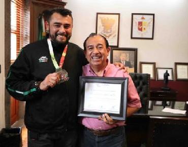 El Campeón Panamericano de Jiu Jitsu agradece al Alcalde Lugo su apoyo