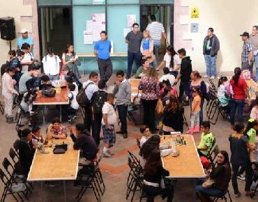 Realizan competencia de ajedrez en la Olimpiada Municipal Zamora