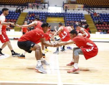 Inician entrenamientos intensivos de la Selección Mexicana de Baloncesto en Morelia
