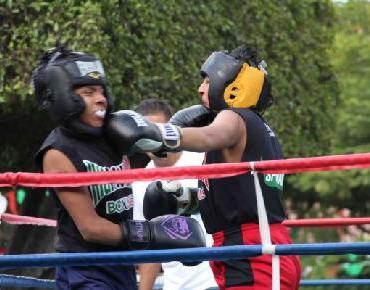 En Zamora Boxeadores dieron una exhibición de su talento