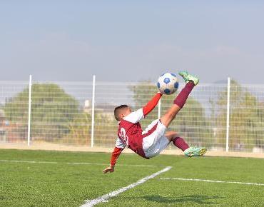 Inauguran cancha de fútbol rápido en El Disparate