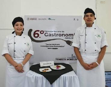 Alumnos del Conalep 2o. Lugar en Concurso Gastronómico Nacional