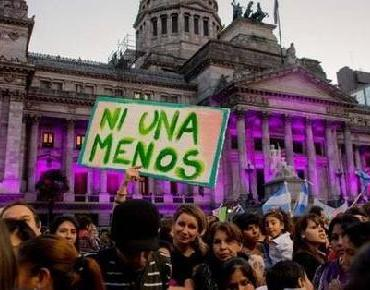 Ni Una Menos otra vez en las calles de Argentina