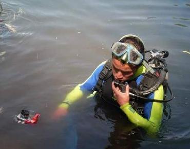 Buzos contra el deterioro de cuerpos de agua en Zacapu