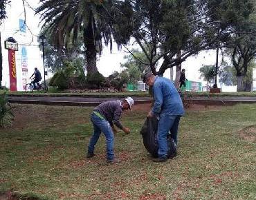 Recibió mantenimiento general Calzada Zamora-Jacona Se dignificaron los jardines