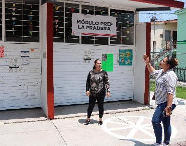 Dan mantenimiento a los CEDECOS de Valencia y Miguel Regalado, así como el PREP La Pradera