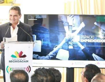 Inaugura Gobernador Espacio Emprendedor para impulsar ideas de negocios de los jóvenes