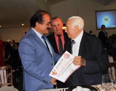 Rinden homenaje al agricultor zamorano Luis Hernández Barrera