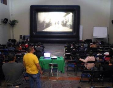 En Zamora cierra con gran éxito caravana de cine en tu comunidad