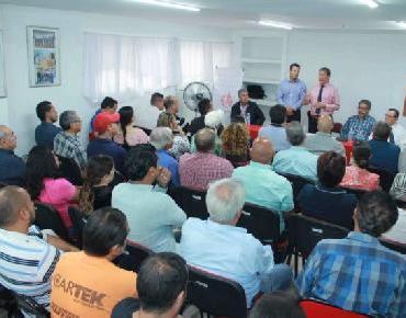 Gobierno Municipal acercó información a empresarios zamoranos sobre programas de NAFIN