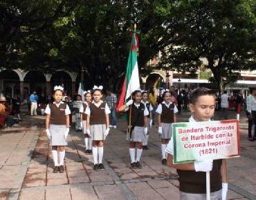 Recibe la Plazoleta del Teco  La Jornada Municipal Cívico Patriótica