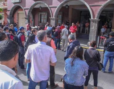 Realizan simulacro de sismo en Presidencia y DIF Zamora