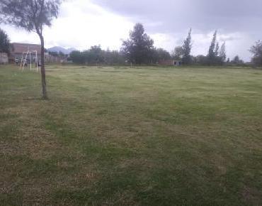 Dan mantenimiento a canchas deportivas en comunidades de Zamora
