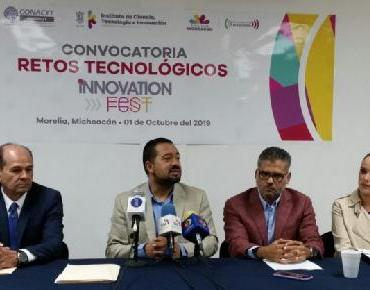 Innovation Fest Michoacán 2020, invita a inscribir retos científicos o tecnológicos