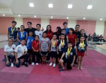 50 Medallas para Atletas Jaconenses en campeonato estatal de Wushu