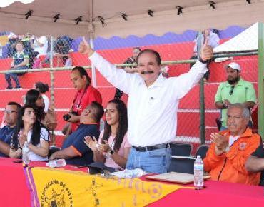 Alcalde Martín Samaguey inaugura temporada 2019-2020 de Liga Michoacana