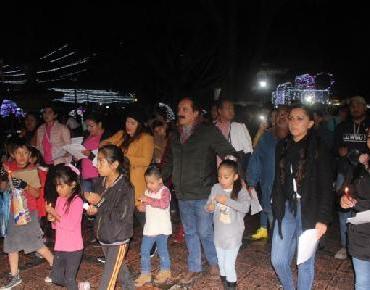 Ni frío ni lluvia impidieron disfrutar Posada Municipal Zamora