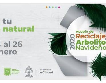 Campaña de Recolección de Arbolitos de Navidad en Guadalajara