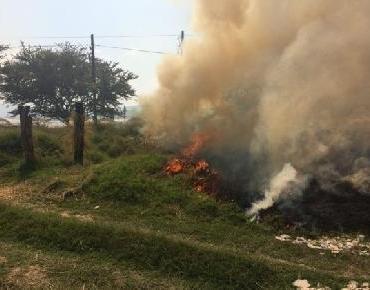 En Zamora incrementa actividad de Bomberos por basura y pirotecnia