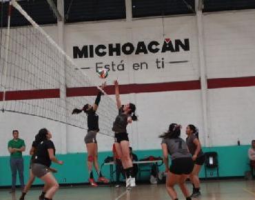Aceptable resultado de Jacona en Torneo Michoacán de Voleibol