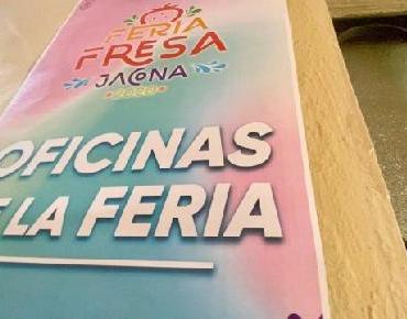 Abren oficinas de la Feria de la Fresa Jacona 2020