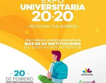 Expo Universitaria 2020 en Recinto Ferial Michoacán
