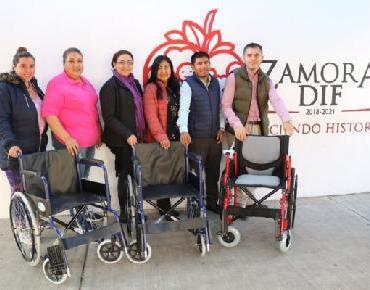 Más sillas de ruedas para zamoranos