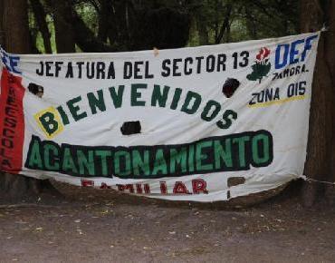 Participa DIF Zamora en XVII Acantonamiento familiar