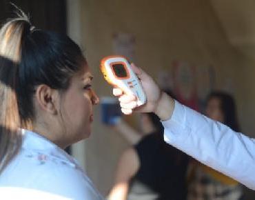 En marcha filtro de verificación sanitaria en Palacio Municipal de Jacona