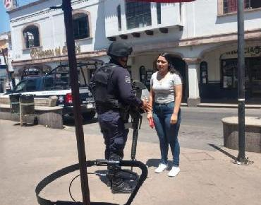 ¡No salgan, quédense en su casa!: Seguridad Pública y Ayuntamiento de Jacona