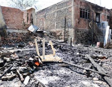 Apoya DIF a familias afectadas por incendio