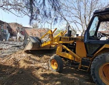 Se rehabilita terreno de casa siniestrada en Zamora