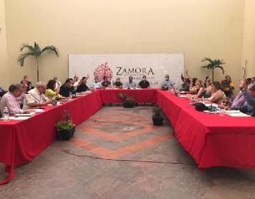 En Zamora aprueban implementar medidas para protección de la ciudadanía por el COVID-19